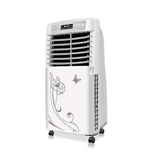 CX Aire Acondicionado Unidad con Control Remoto Móvil de Bajo Consumo de Aire Acondicionador de Aire Silent Led Pantalla Aire Acondicionado Interior para Oficina en Casa ventilador