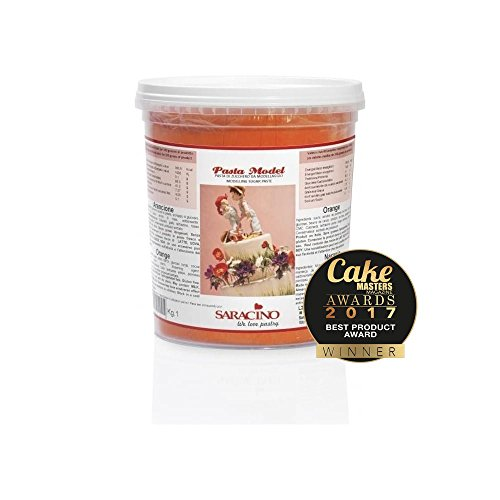 Saracino Modellierpaste Orange - 250 g