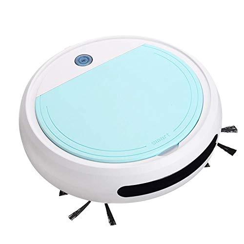 Aspirador Robot, Barrido automático Robot trapeador 4 en 1 3200Pa Máquinas de Limpieza de Pisos con súper succión y barredora silenciosa Aspirador robótico para el hogar, Cocina, Dormitorio, Oficina