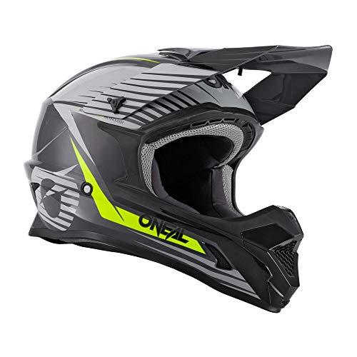O'NEAL 1 Series Stream Youth 2021 Oneal - Casco infantil para bicicleta de montaña, talla L, 51/52 cm, color gris y negro