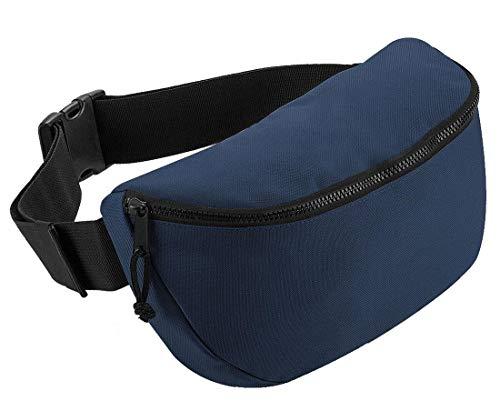 Fast Fashion Unisex grote heuptas volwassenen accessoires taille geld reistas plain bag