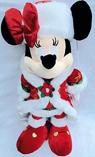 Disney Authentique - Noël Minnie Mouse poupée Peluche
