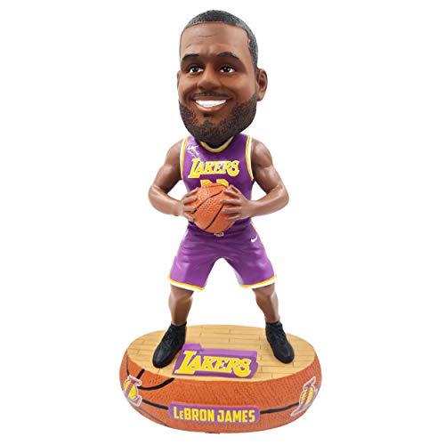 FOCO Lebron James Cleveland Cavaliers Baller - Purple Jersey Bobblehead NBA