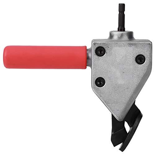Cabezal cortador de chapa de metal, cabezal cortador de taladro eléctrico universal,...
