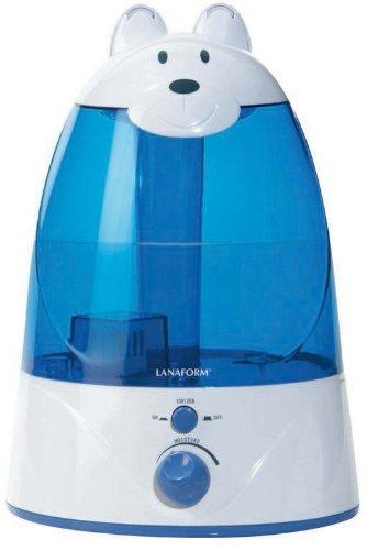 LANAFORM Charly 5L 45W Azul, Color blanco - Humidificador (45 W, 266 mm, 266 mm, 361 mm, 2,9 kg, Azul, Blanco)