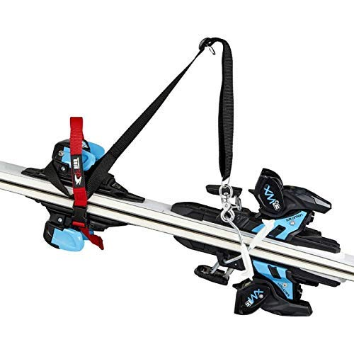 Ski-Bird Ski-draaghulp, ski-draagriem, skiën, snowboards, schouderriem, ski-bevestigingsriem, carrier, razendsnel gemonteerd, in lengte en breedte verstelbaar, voor volwassenen en kinderen, Made in Germany