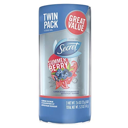 Secret Summer Berry, 2.6 oz Twin Pack, Packaging may vary
