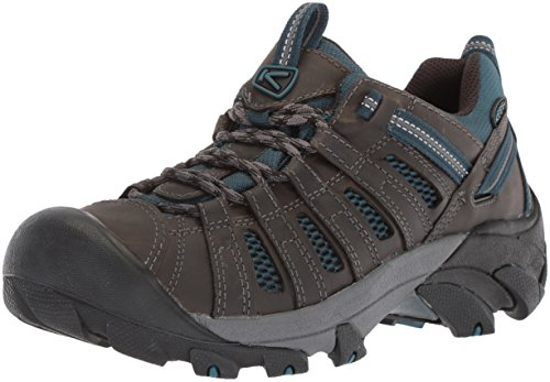 KEEN Men's Voyageur-M Hiking Shoe, Alcatraz/Legion Blue, 11.5 M US