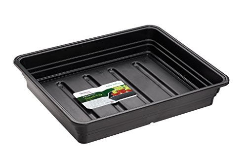 Stewart 2385005 52 cm Extra Deep Gravel Tray without Holes - Black