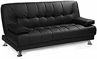 Mueblix Sofa Cama Tera - Negro