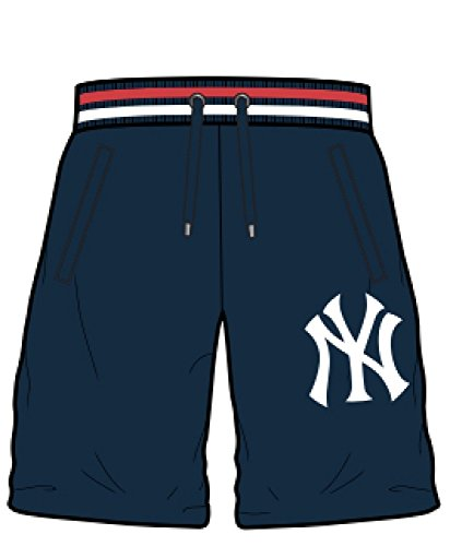MAJESTIC Short Wrest Yankees blu - Korte snowboard