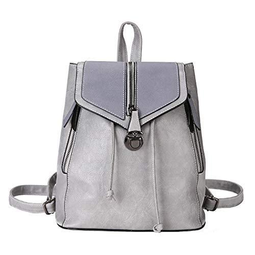 Bageek Backpack Womens Leather Rucksack Ladies Backpacks PU Leather Rucksack School Bags for High School College
