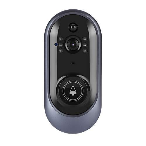 Timbre Inteligente Smart Wireless WiFi HD Cámara Inteligente Timbre de la Puerta Videoportero por Infrarrojos Portero para la Seguridad del hogar