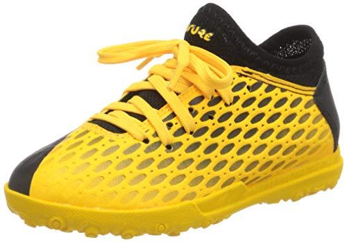 Puma Unisex-Kinder Future 5.4 Tt Jr Botas de fútbol, Gelb (Ultra Yellow Black), 34 EU