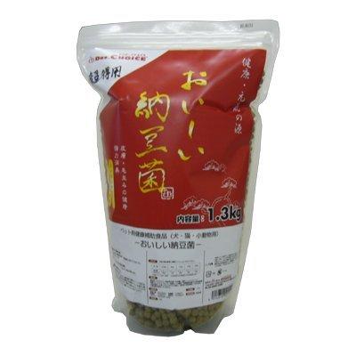 ドクターズチョイス おいしい納豆菌 粒タイプ 1.3kg + サンプルフードプレゼント