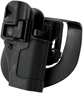 BlackHawk Serpa CQC Belt Loop and Paddle Holster For Ruger SR9 Right Hand Black - 410541BK-R