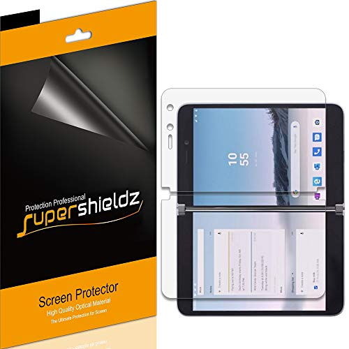 (3 Pack) Supershieldz for Microsoft Surface Duo Screen Protector, (3 Left Screen and 3 Right Screen) Anti Glare and Anti Fingerprint (Matte) Shield