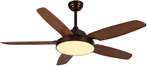 Luxury ceiling fan with remote control and LED light