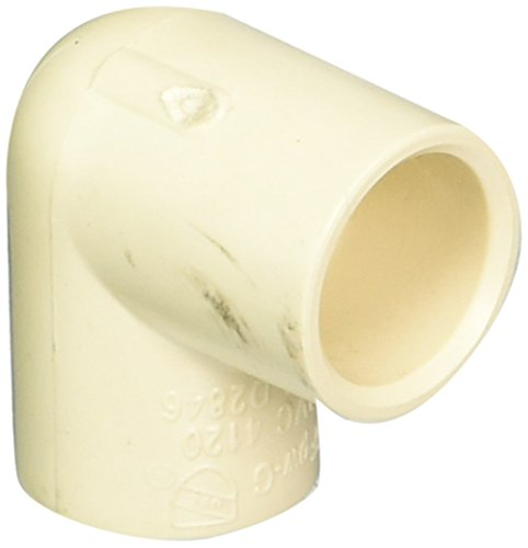 1/2-Inch Solvent PXL CPVC 90 Elbow, Tan - King Brothers Inc. RCE-0500-S