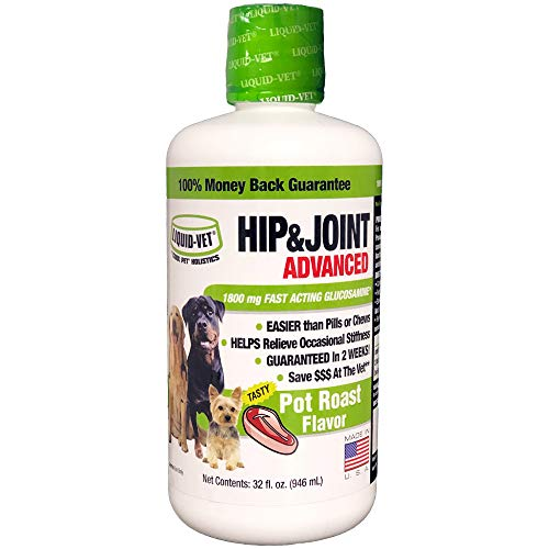 Liquid-Vet K9 Hip & Joint Advanced Formula, Pot Roast, 32 oz