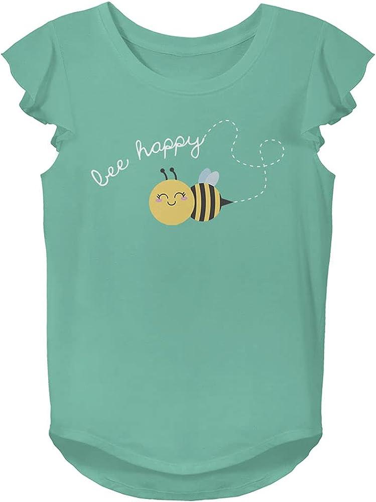 LOST GODS Girls' Bee Happy T-Shirt