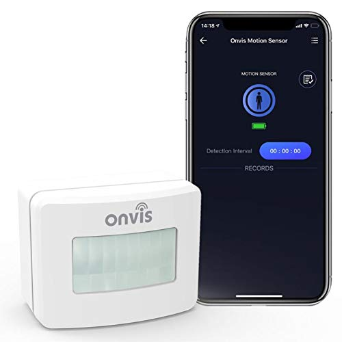 Onvis Smart Homekit Motion Sensor Indoor Humidity Gauge Hygrometer Thermometer Home Automation Trigger Bluetooth No Hub Required