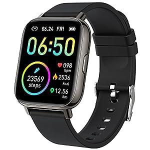 """Smartwatch, Orologio Fitness Uomo Donna 1,69"""" Touch Schermo Smart Watch con Contapassi/Cardiofrequenzimetro/Cronometro…"""