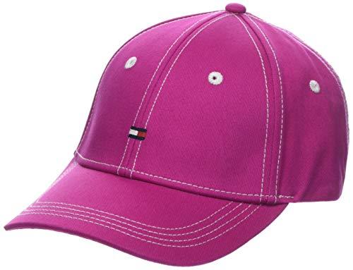 Tommy Hilfiger Damen BB Baseball Cap, Violett (Fuchsia Red 530), One Size (Herstellergröße:OS)