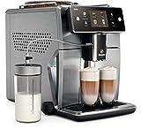 Saeco xelsis sm7686/00–Cafetière (acier inoxydable, anthracite, TFT, 1,7l, 450g, 0,5W)