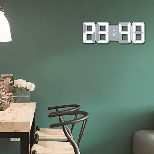 Digitale Wandklok Bureauklok Wekkers Wandklok, Klok, Klokken voor Woonkamer Kantoor Thuis Slaapkamer