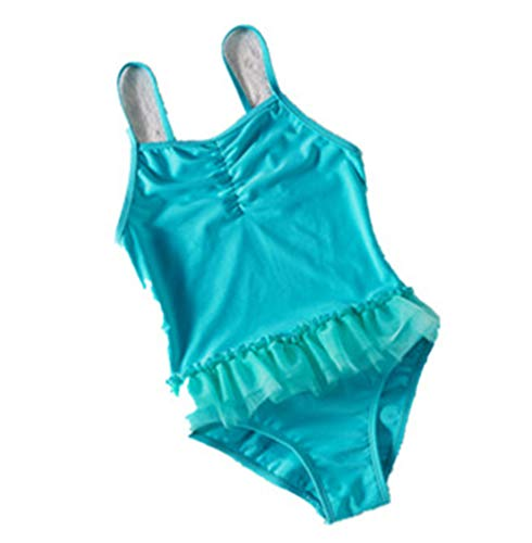 DarkCom Een Stukken Bikini voor Meisje Mode Leuke Strand Sport Zwemkleding