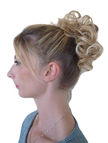 Vanessa Grey Hair Designs Elastico per capelli con extension di ricci