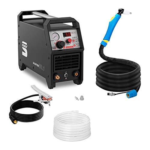 Stamos Découpeur Plasma S-Cutter 50.1 (Power, 230V, Courant de Coupe 10 – 50 A, épaisseur de Coupe 12 mm)