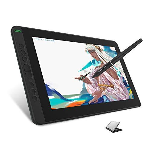 HUION Kamvas 13 Tableta gráfica con Pantalla, Nuevo Monitor de Dibujo gráfico 2020 con Pantalla laminada Completa de 13,3 Pulgadas, Nuevo lápiz PW517, Compatible con Dispositivo Android (renovado)