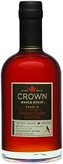 Crown Maple Syrup, Rich Amber, 12.7 Fluid Ounce, (12.7 Fluid Ounce)