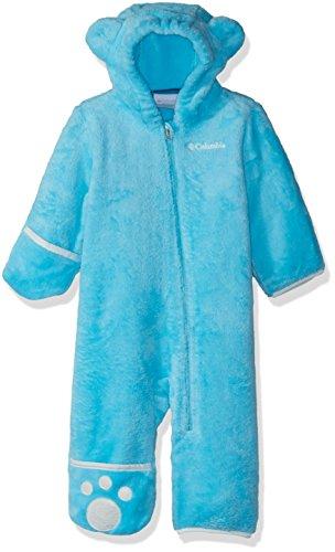 Columbia Enfant Combinaison Polaire, FOXY BABY II BUNTING, Polyester, Bleu (Atoll), Taille : 18/24 mois, WN0016