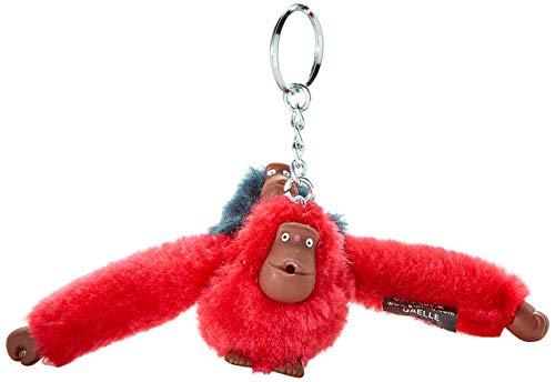 Kipling Damen Monkeyclip Bm Schlüsselanhänger, Pink (Tr Pink/Tr Blue), 4.5x5x4 cm