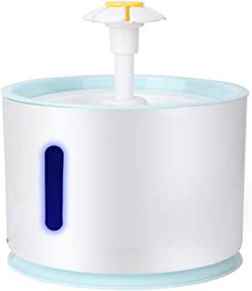 Large Capacity Automatic Drinking Fountain, Convenient Eco-Friendly Pet Water Dispenser, for Dogs Cats Rabbits Birds