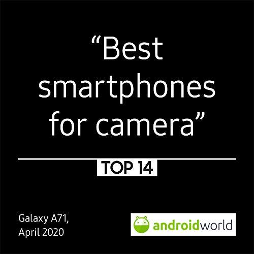 Samsung Galaxy A71 Dual-SIM 128 GB - Prism Crush Silver