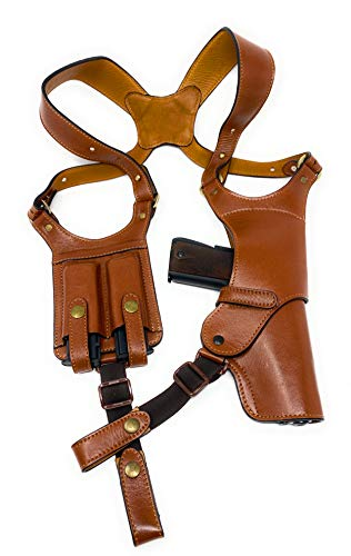 Cardini Leather - Shoulder Holster Made with Premium...
