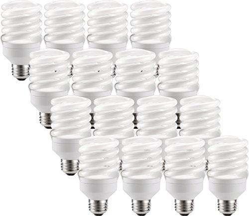 Philips Energy-Saver 18-Watt (75-Watt Replacement) Twister Compact Fluorescent Light Bulbs (16 Bulbs)