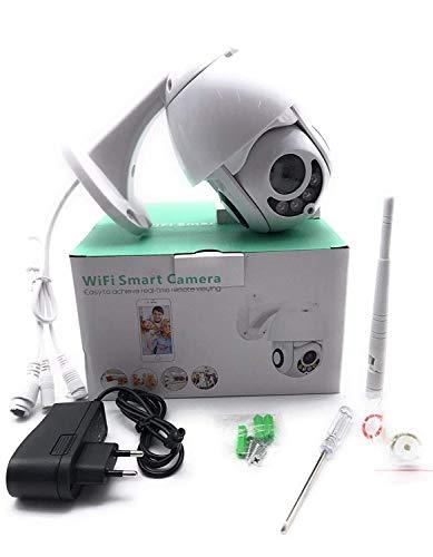 TELECAMERA IP PER ESTERNI WIFI 1080P FULL HD WEBCAM MOTORIZZATA CW414