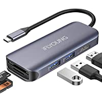 Iflyoung USB C to Hdmi 4k 3.0 MacBook pro Extensions USB Docking Station