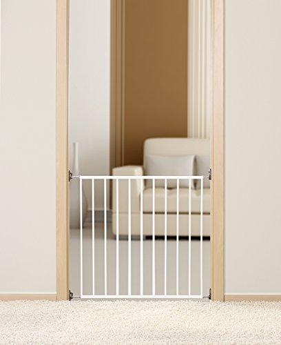 REER La barrière à visser basique 46101 protection de porte, blanc