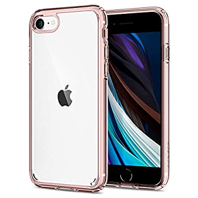 Spigen Ultra Hybrid [2nd Generation] Designed for iPhone SE 2020 Case/Designed for iPhone 8 Case (2017) / Designed for iPhone 7 Case (2016) - Rose Crystal