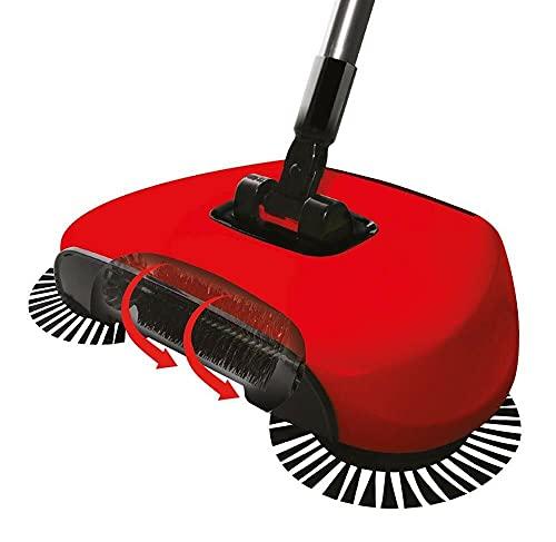 Deals - Escoba manual sin hilos para suelos duros, 3 en 1, limpieza doméstica, sin electricidad