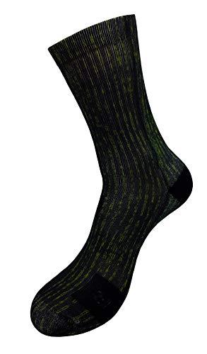 Matrix Style Socken mit Eigenem Handgefertigte Motiv Design 3D Druck Socken für Basketball Fitness Fußball Fitness Volleyball Tennis Golf Radfahren Atmungsaktiv Sportsocken für Höhe Leistung (47-50)