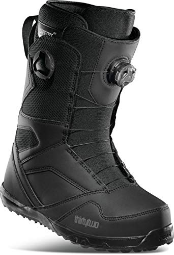 Thirty Two STW Double BOA Mens Snowboard Boots Black Sz 10.5