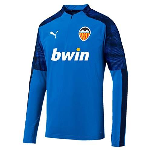 PUMA Valencia Cf Training Stop Short Zip 19/20 Azul Hombres, Azul, XS
