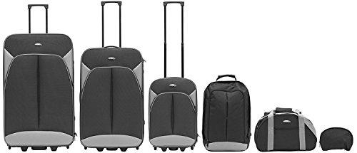 Packenger Value Traveller Valigia 206-005-05, 82 cm, 115 L, Nero